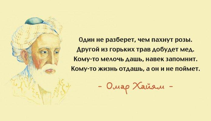 Цитаты Омара Хайама