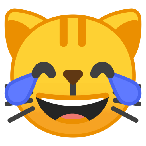 Cat Face With Tears of Joy