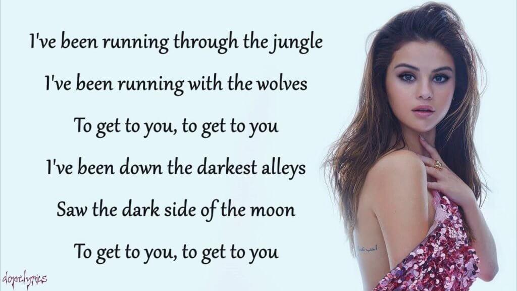 Перевод песни и клип Selena Gomez feat. Marshmello — Wolves