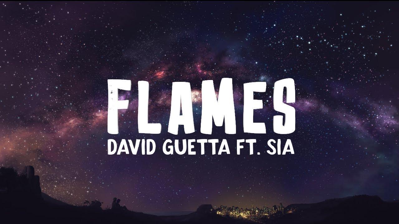 Перевод песни  David Guetta & Sia - Flames 1