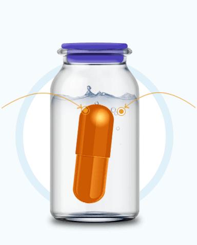 Капсула препарата Sustalife