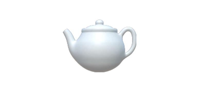 emoji чайник